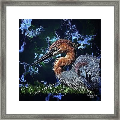 Wild Goliath Herona Framed Print