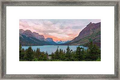 Wild Goose Island Dawn Framed Print