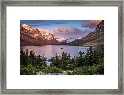 Wild Goose Island Morning 1 Framed Print