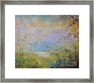 Wild Grasses Of Saugatuck Framed Print