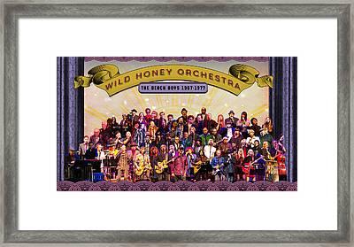 Wild Honey Orchestra Fundraiser Framed Print