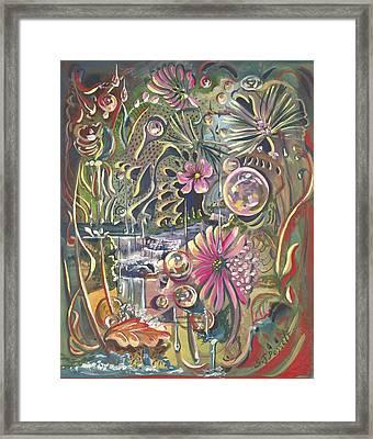 Wild Honeycomb Framed Print