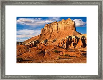 Wild Horse Butte Framed Print