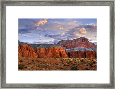 Wild Horse Mesa Framed Print