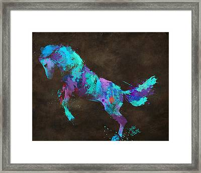 Wild Horses Couldn't Drag Me Away From You Framed Print