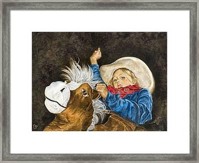 Wild Imagination Framed Print by Traci Goebel