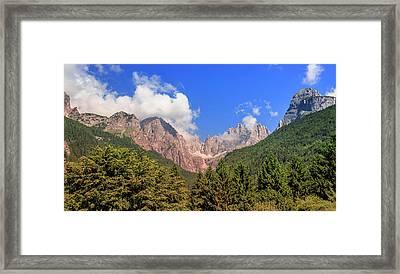 Wild Italy Framed Print by Roy McPeak