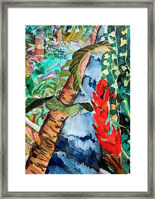 Wild Jungle Framed Print by Mindy Newman