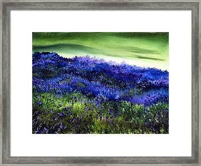 Wild Lavender Framed Print