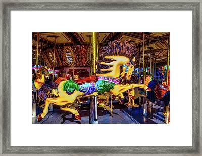 Wild Magical Horse Ride Framed Print