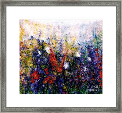 Wild Meadow Flowers Framed Print by Claire Bull