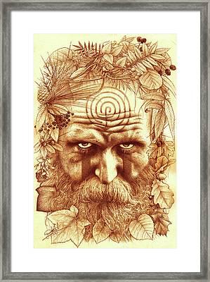 Wild Merlin Framed Print