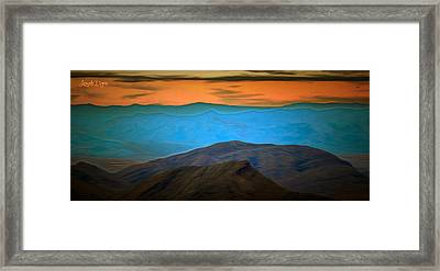 Wild Mountains - Pa Framed Print