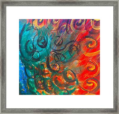 Wild Movement  Framed Print