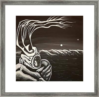 Wild Nights Framed Print