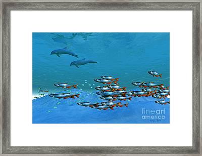 Wild Ocean Framed Print by Corey Ford