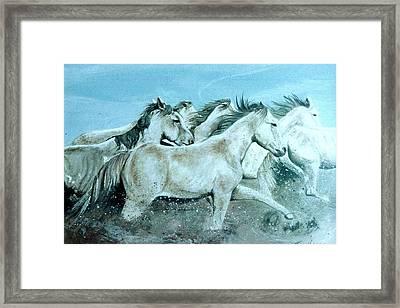 Wild Ones Framed Print by Terri Kilpatrick