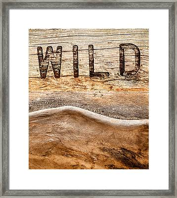 Wild Framed Print by Jacky Gerritsen