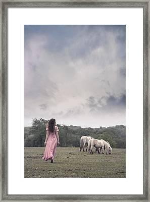 Wild Ponies Framed Print by Joana Kruse