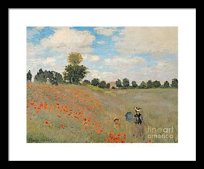 Argenteuil Framed Prints