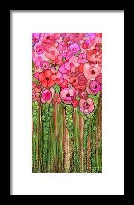 Wild Poppies Framed Prints
