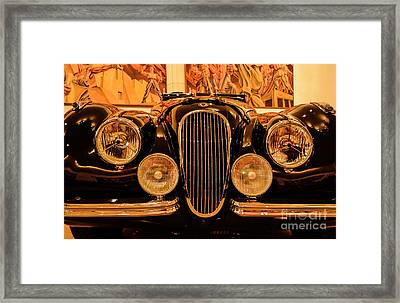 Wild Ride Framed Print by Ksenia VanderHoff