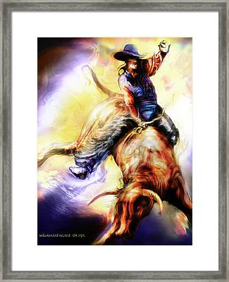 Wild Ride Framed Print
