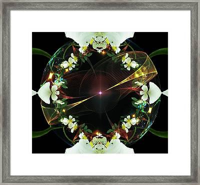 Wild Roses 2 Framed Print