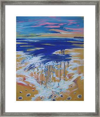 Wild Sea At Lahinch Framed Print by Eamon Doyle