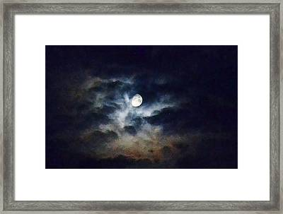 Wild Sky Framed Print
