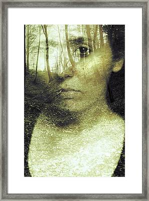 Wild Spirit Framed Print by Art of Invi