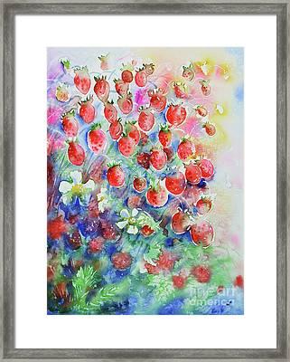Wild Strawberries Framed Print