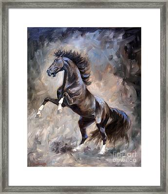 Wild Thing Framed Print by Jeanne Newton Schoborg