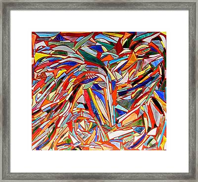 Wild Things Framed Print by Charles McDonell