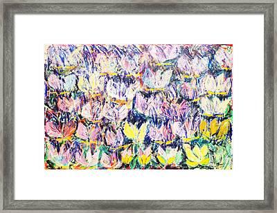 Wild Tulips Framed Print by Joan De Bot