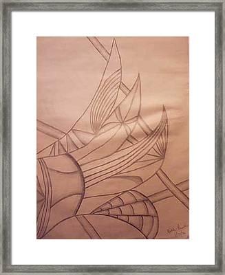 Wild Vines Framed Print