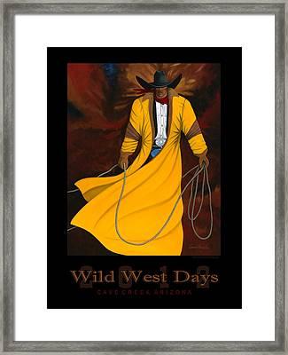 Wild West Days 2012 Framed Print