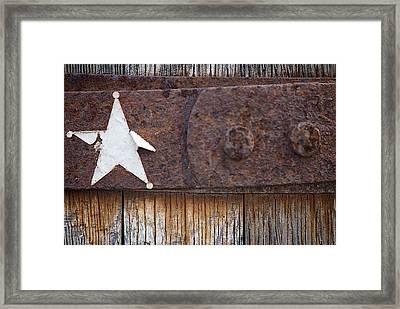 Wild West Framed Print