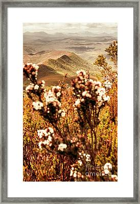 Wild West Mountain View Framed Print by Jorgo Photography - Wall Art Gallery