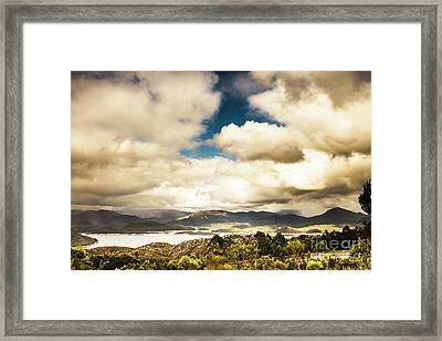 Wild West Of Tasmania Framed Print by Jorgo Photography - Wall Art Gallery