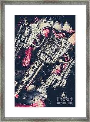 Wild West Weapons  Framed Print by Jorgo Photography - Wall Art Gallery