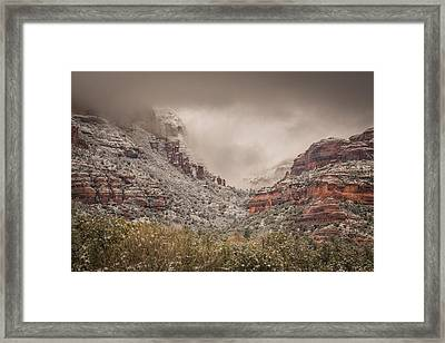 Boynton Canyon Arizona Framed Print