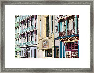 Wild Wild West Casino Framed Print by John Greim