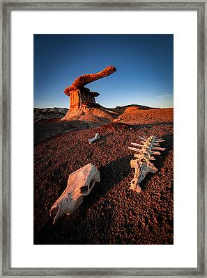 Wild Wild West Framed Print by Edgars Erglis