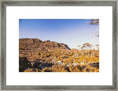 Wild Wilderness Of Stone Geology Framed Print
