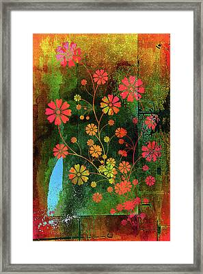 Wild With Color Framed Print