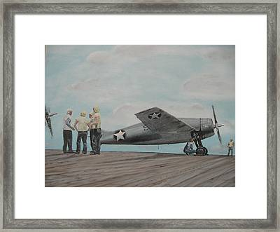 Wildcat  Rosenblat S Reply Framed Print by Chris Lambert