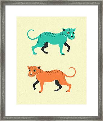 Wildcats Framed Print