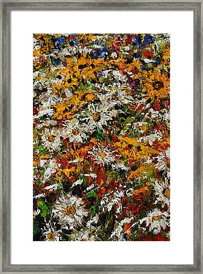 Wildchild Flowers Close-up Framed Print by Robert James Hacunda