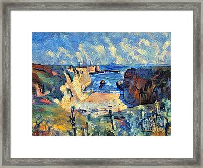 Wilder Ranch Trail Framed Print